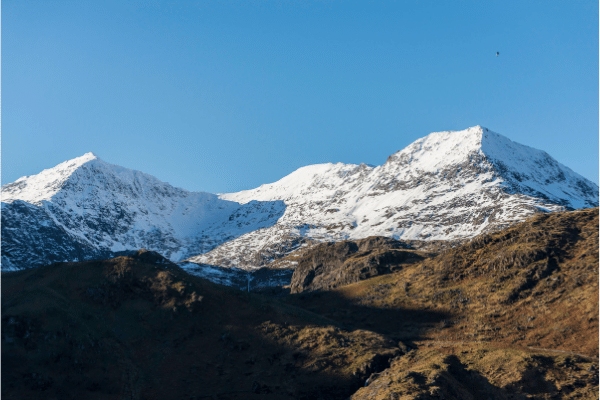 the Summit of Snowdonia in Snowdonia National Park